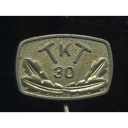 Eesti märk TKT 30, valge...