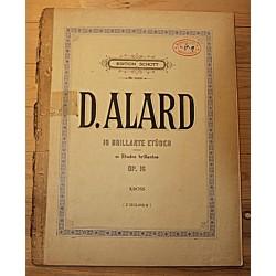 Noodid:D.Alard, 10...