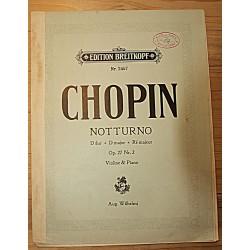 Noodid:Chopin, Notturno,...