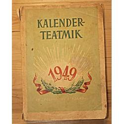 Kalender-teatmik 1949,...