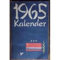 Kalender-teatmik 1965,...