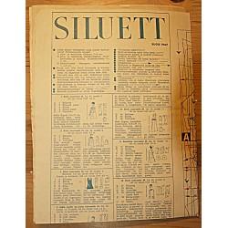 Ajakirja Siluett lõikeleht,...