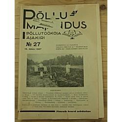 Ajakiri Põllumajandus, 27/1937