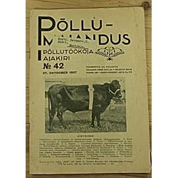 Ajakiri Põllumajandus, 42/1937