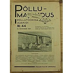 Ajakiri Põllumajandus, 44/1937