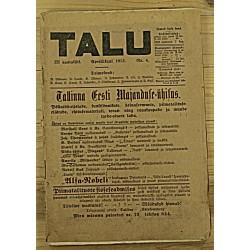Ajakiri Talu, 4/1913
