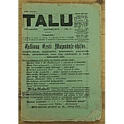 Ajakiri Talu, 7/1913