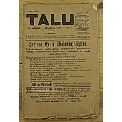 Ajakiri Talu, 3/1913