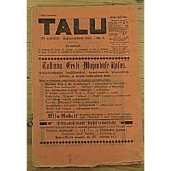 Ajakiri Talu, 9/1913