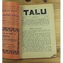 Ajakiri Talu, 8/1913