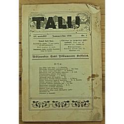 Ajakiri Talu, 1/1928