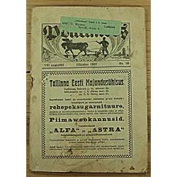 Ajakiri Põllumees, 20/1927