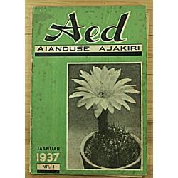 Aianduse ajakiri Aed, 1/1937