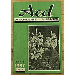 Aianduse ajakiri Aed, 3/1937