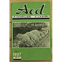 Aianduse ajakiri Aed, 5/1937