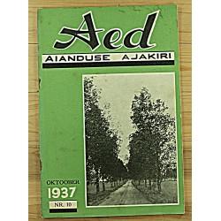 Aianduse ajakiri Aed, 10/1937