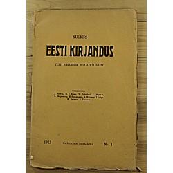 Kuukiri Eesti Kirjandus,...