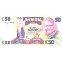 Zambia:50 Kwachat signature...