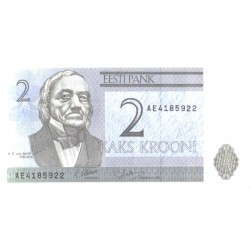 Eesti 2 krooni 1992, seeria...