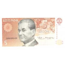Eesti 5 krooni 1992, seeria...
