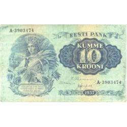 Eesti 10 krooni 1937,...