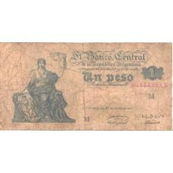 Argentiina:1 peeso 1947, F
