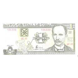 Kuuba 1 peeso 2003, UNC