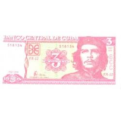 Kuuba 3 peesot 2004, UNC