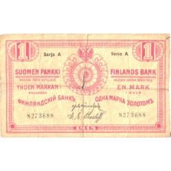 Soome 1 mark 1915, seeria...