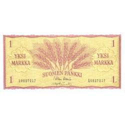 Soome 1 mark 1963, AUNC