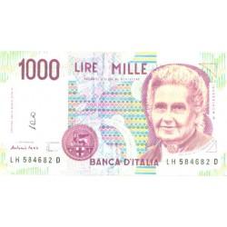 Itaalia 1000 liiri 1990, VF