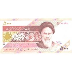 Iraan 5000 rials UNC