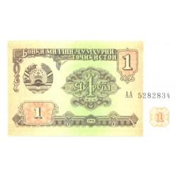 Tadjiki:Tadžiki:1 rubl,...