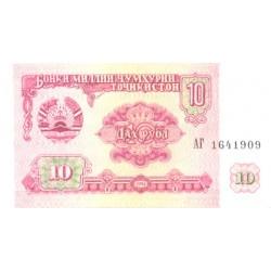 Tadjiki:Tadžiki:10 rubl,...