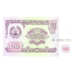 Tadjiki:Tadžiki:20 rubl,...