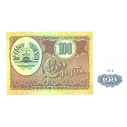 Tadjiki:Tadžiki:100 rubl,...