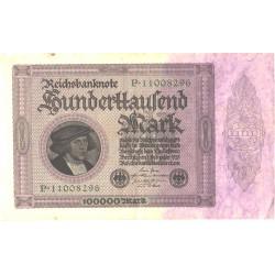 Saksamaa:100000 marka...