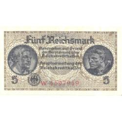 Saksamaa:5 marka ca 1940, VF