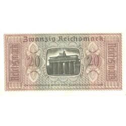 Saksamaa:20 marka ca 1940, UNC