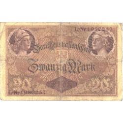 Saksamaa:20 marka 5.8.1914,...