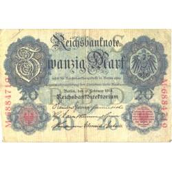 Saksamaa:20 marka...