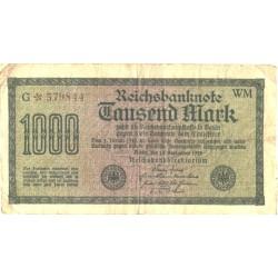 Saksamaa:1000 marka...