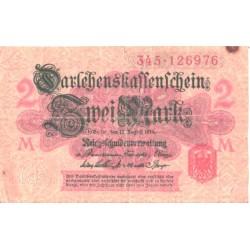 Saksamaa:2 marka 12.8.1914, VF