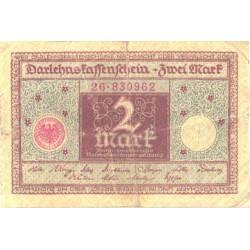 Saksamaa:2 marka 1.3.1920, VF