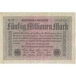 Saksamaa:50 miljonit marka...
