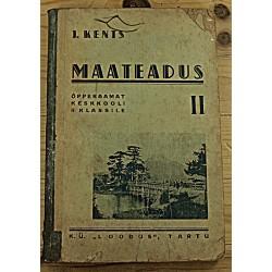 J.Kents:Maateadus II,...