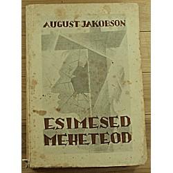 August Jakobson:Esimesed...
