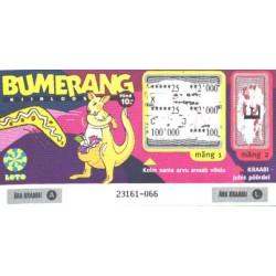 Loteriipilet, Bumerang...