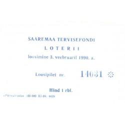 Loteriipilet, Saaremaa...