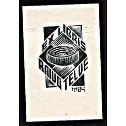 Raivo Telve ex libris, 1984